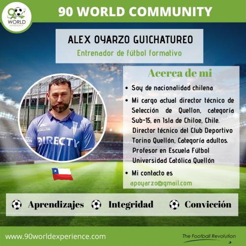 Alex Oyarzo Perfil Pro - 90 WE