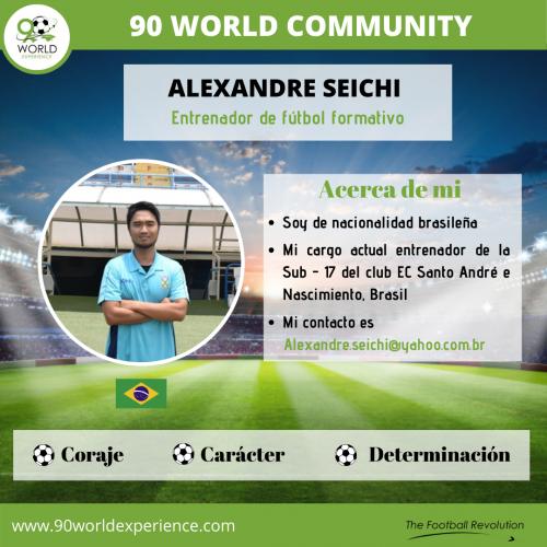Alexandre Seichi Perfil Pro - 90 WE