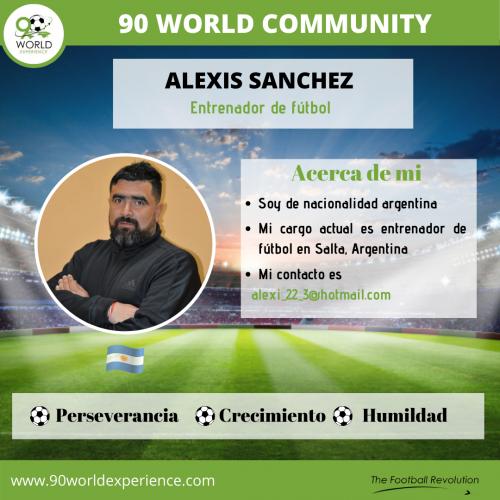 Alexis Sanchez Perfil Pro - 90 WE