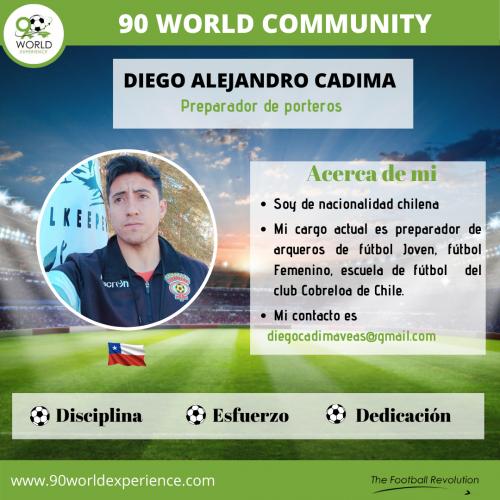 Diego Cadima Perfil Pro - 90 WE