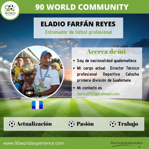 Eladio Reyes Perfil Pro - 90 WE