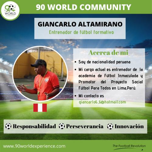 Giancarlo Altamirano Perfil Pro - 90 WE