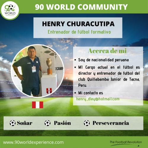 Henry Churacutipa Perfil Pro - 90 WE