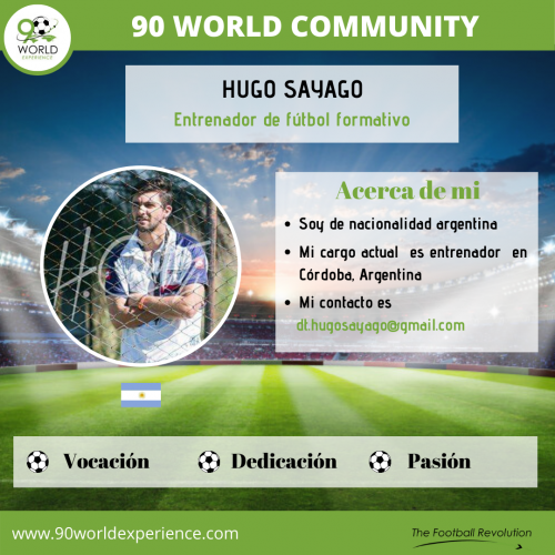 Hugo Sayago Perfil Pro - 90 WE