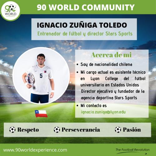 Ignacio Zuñiga Toledo Perfil profesional - 90 WE