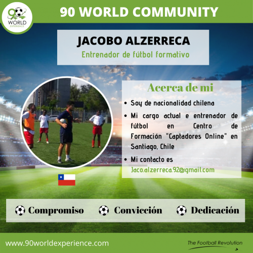 Jacobo Alzerreca Perfil Pro - 90 WE