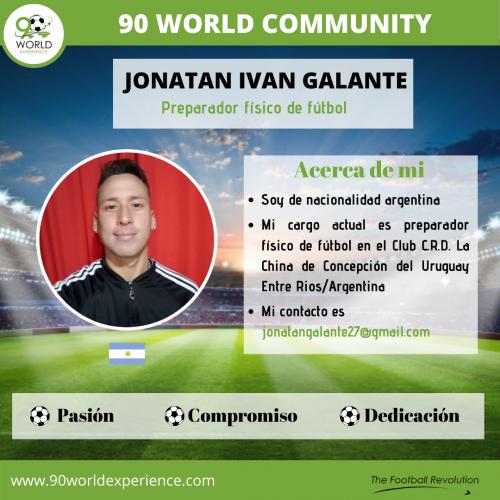 Jonatan Galante Perfil Pro - 90 WE