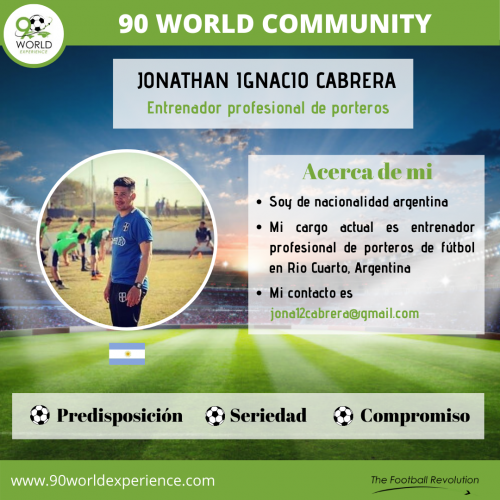 Jonathan Cabrera Perfil Pro - 90 WE