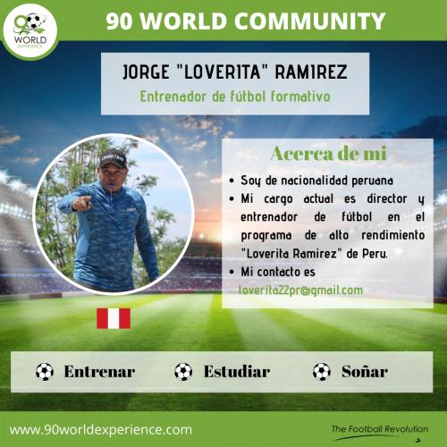 Jorge Ramirez Perfil Pro - 90 WE