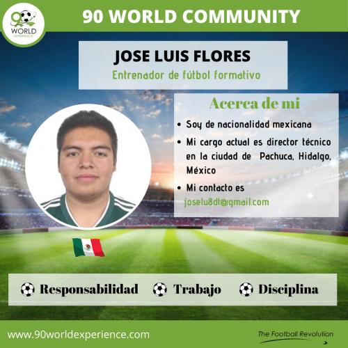 Jose Flores Perfil Pro - 90 WE