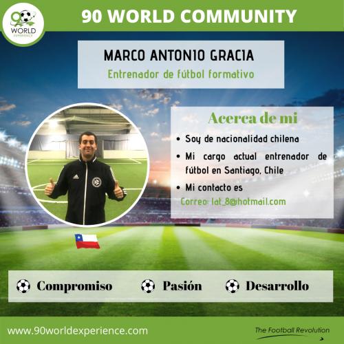 Marco Gracia Perfil Pro - 90 WE