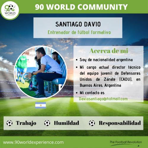 Santiago Davio Perfil Pro - 90 WE