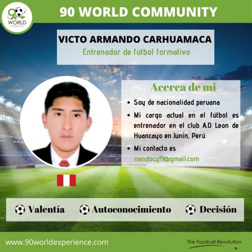 Victor Carhuamaca Perfil Pro - 90 WE