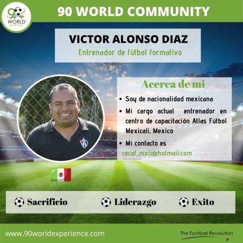 Victor Díaz Perfil Pro - 90 WE