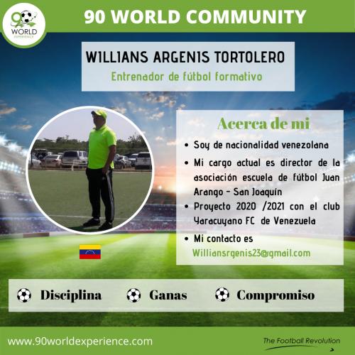 Willians Tortolero Perfil Pro - 90 WE