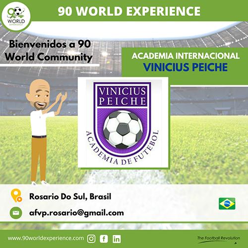 Academia Internacional Vinicius Peixe - 90 World Experience