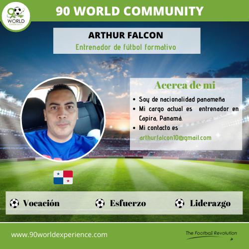 Arthur Falcon - Perfil Pro - 90 World Experience
