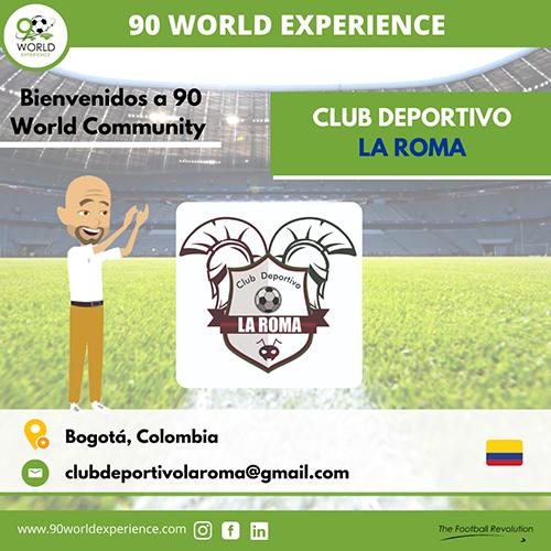 Club Deportivo La Roma - 90 WE