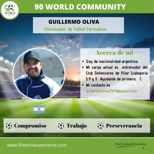 Guillermo Oliva Perfil Pro - 90 World Experience