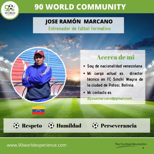 Jose Marcano Perfil Pro - 90 WE