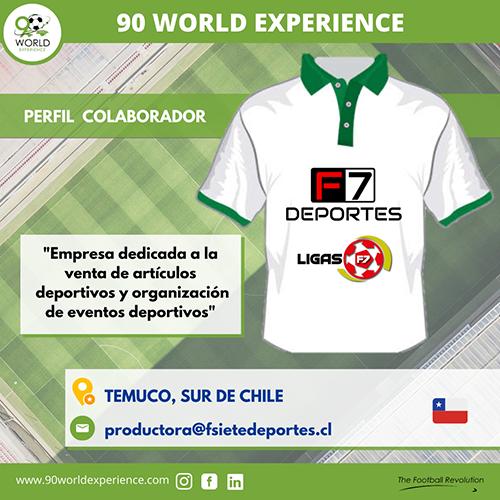 Perfil Colaborador F7 Deportes - 90 WE